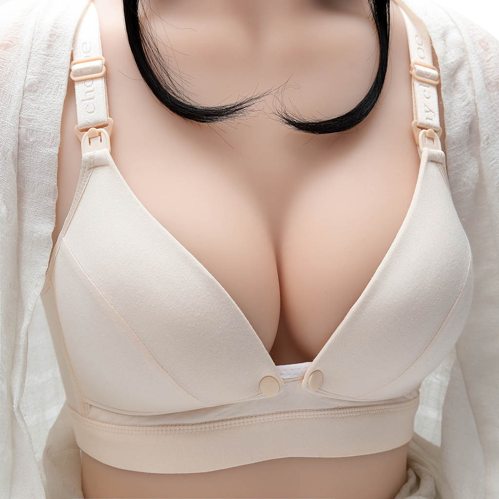 Bra Breastfeeding Lactation Nursing-Bra Front Pregnant-Women Underwear Open-Button Sexy title=