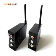 Momomo 2.4G Close wireless audio and video transmission adapter AV transmitter with receiver Set Open distance 50-100 meters(China)