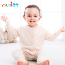 YOUQI Thick Winter Kids Sweater Wool Autumn Warm Boy Girl Children Clothes Cotton Costumes Cardigans Child Coat Outwear Clothing(China)