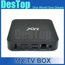 Original MX Android 4.2 TV Box Amlogic 8726 MX Dual Core 1.5GHz Smart TV HDMI Player 1G/8G Built-in KD 1080P RJ45 AV Port 3G