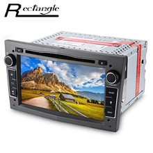 Car Stereo Video DVD Player 7 Inch 2 Din Android 5.1 Quad-Core Maps Navigation Built-in Car DVR System In-dash Mic for Opel