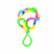 Fidget Anti Stress Gags Toy Tangle Twist Adult Decompression Toys Child Deformation Rope  Pendant Plastic Adult Practical Jokes