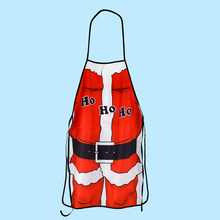 Christmas Santa Claus Cooking Kitchen Apron Sexy Funny Party Decor Girls Aprons