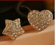 Min. order is $9(can mix different goods) Star,butterfly Rubber Band Zinc Alloy Hair Accessory