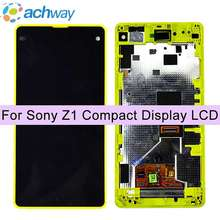 For SONY Xperia Z1 Compact LCD Display Touch Screen Digitizer Assembly Replacement M51w D5503 For SONY Z1 Compact LCD