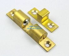 2 Cabinet Roller Catch Door Catch 66mm / Solid Brass(China)