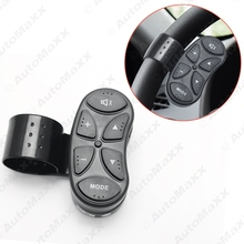 New 6-Key Car Wireless Steering Wheel Control Button For Car Android DVD/GPS Navigation Player Bluetooth Phone #J-4262