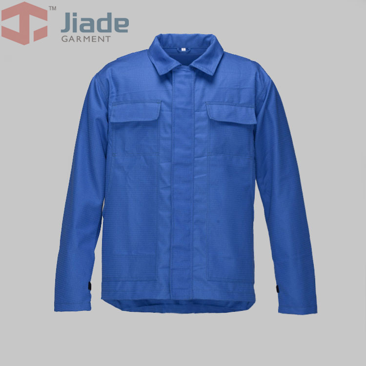 Jiade Mens Flame Resistant Lanyard Access Jacket  Work Jacket<br>