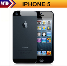 Factory unlocked APPLE iPhone 5 Original Cell Phone iOS OS Dual core 1G RAM 16GB 32GB 64GB ROM 4.0 inch 8MP Camera WIFI 3G GPS