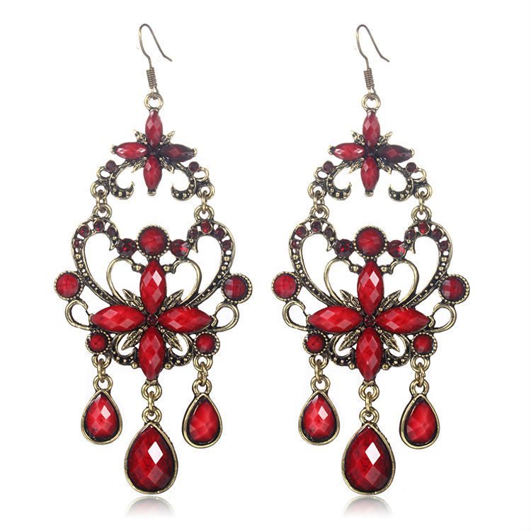 Online Get Cheap Large Red Earrings -Aliexpress.com | Alibaba Group
