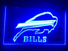 b-195 buffalo bills beer bar pub club 3d signs LED Neon Light Sign man cave(China)