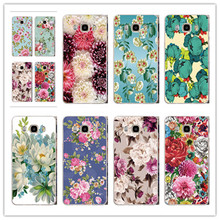 colorful peony flowers case cover For Samsung Galaxy S3 S4 S5 mini S6 edge S7 edge Beautiful romantic flowers phone Case(China)