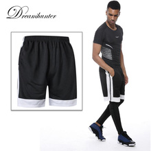 Quick Drying Mens Basketball Shorts Gym Sports Patchwork Bodybuilding Cycling Running Shorts Fitness Short Pants