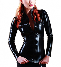 Buy Latex Jacket Thickness 0.4MM Latex Shirt Black Suit Girls
