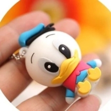 2017 new arrival cute Duck USB Flash Drives 64GB 32GB 16GB 8GB pen drive usb 2.0 stick, full size flash card pen/thumbdrives