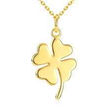 New Japan And South Korea Romantic Clover Pendant Gold Colour Fashion Necklace Women Jewellery Best Friend Gifts For Women Gift