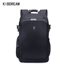 KIBDREAM New Arrival Travel Bag Computer Durable Waterproof Book Bags Mens Laptop Backpack Stylish Cool Backpack Korean Fashion