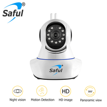 Buy Saful 1080P Wireless IP Camera 2MP MWifi CMOS Night Vision H264 IR Cut baby monitor Camera Motion Detection Smart Home Security for $35.26 in AliExpress store
