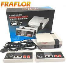 Brand New Mini TV Handheld Game Console Video Game Console For Nes Games With 500 Different Built-in Games PAL & NTSC(China)