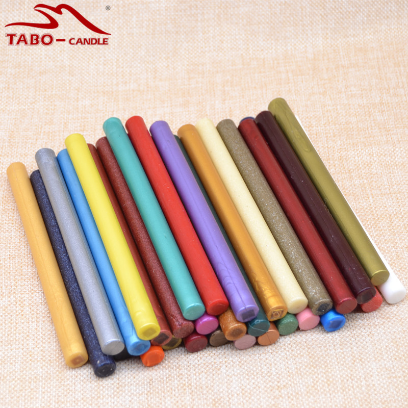 32 Pcs Traditional Sealing Wax Stick for Personal Self DIY Sealing Stamp Wedding Invitation Decoration - 11*140mm<br>