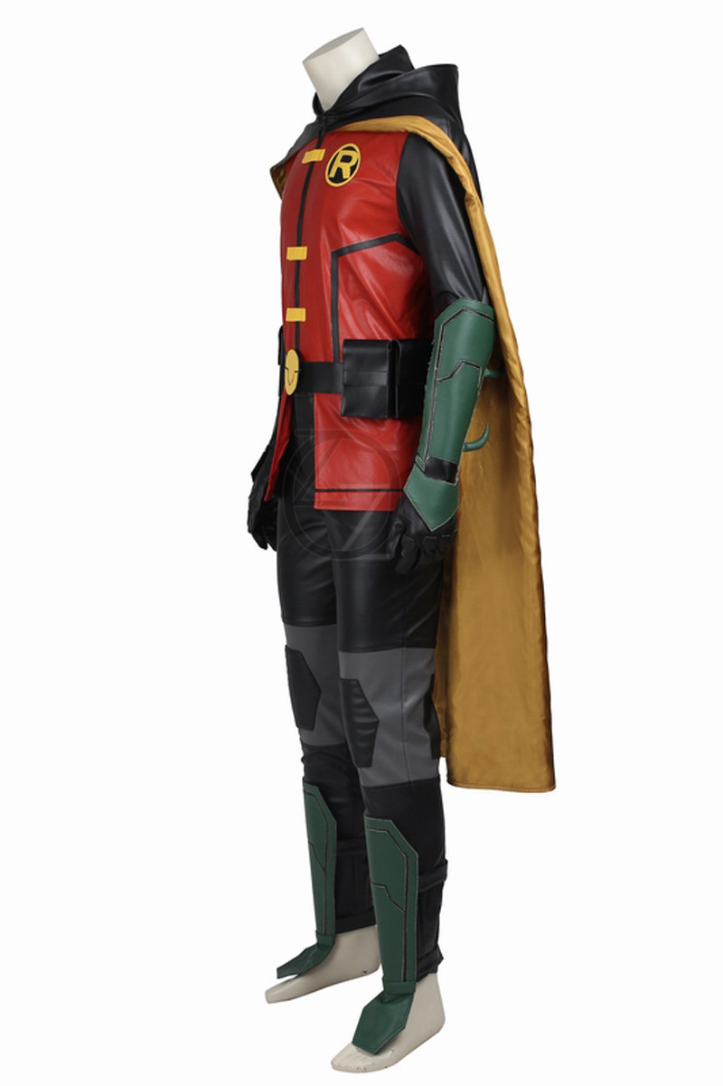 New-Titans-Justice-League-vs-Teen-Titans-Robin-COSPLAY-Costume-Any-Size-Custom-Made-High-Quality (2)