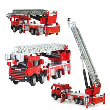 mini car model truck fire fighting truck cool baby toy gift for children kids car toy baby favorite