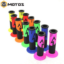 "ZS MOTOS 6 Colors Motorcycle grips Motocross grip handle bar DIRT PIT BIKE MOTOCROSS 7/8"" HANDLEBAR RUBBER Dual Density MX Grips(China)"