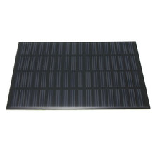 universal High quality 18V 1.5W Polycrystalline Silicon Stored Energy Solar Panel Module System Solar Cells Charger 11x14x0.2cm