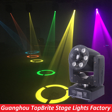 2016 Hot Sales 95W Led Moving Head Zoom Light 1*30W White Color + 6*8W RGBW 4IN1 7 Color /7 Gobo Wheel LED Display Free Shipping