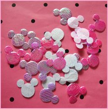 Free shipping wholesale 15mm 100pcs/lot  shiny hello kitty head appliques
