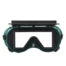 Safurance Industrial Welding Goggles Head Clamshell Protection Glasses Mask Green Square Workplace Safety(China)