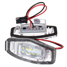 1 Pair 18 LED Number License Plate Light For Honda for Civic VII4 / VIII for Accord for Legend(China)