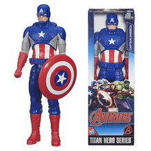 30cm PVC Captain America Figure Toy Movie Captain America Action Figure, 12inch  New Style Toy, Anime Brinquedos, Kids Toys