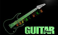 LF087- Guitar Ibanez Music    LED Neon Light Sign  home decor shop crafts
