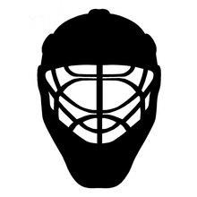 15.8 см 22.8 см автомобиля Интимные аксессуары спортивные Хоккей шлем Средства ухода за кожей Наклейки для автомобиля черный, серебристый цве...(China)