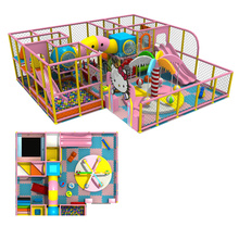 customized made amusement playground equipment for kids indoor playground toy YLW-IN1582
