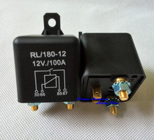High Quality Relay 100A 12V DC Heavy Duty automotive car black box battery [100A_Relay_12V] Free Shipping