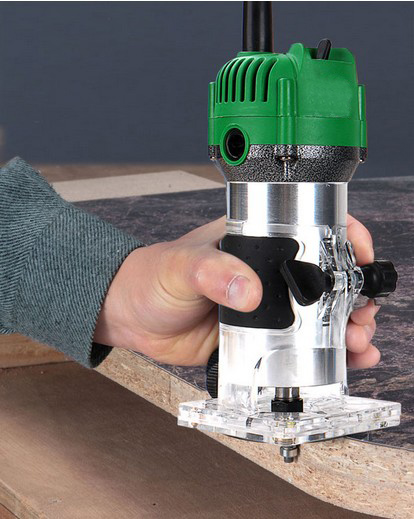 Wood trimming wood milling electromechanical household multifunctional portable power tools woodworking trimmer slot 3703<br><br>Aliexpress