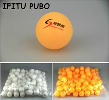 New 30Pcs/lot Tennis White Ping Pong Balls 4cm Orange Table Tennis Balls Free shipping(China)
