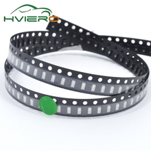 500pcs High light emerald green 3014 SMD LED lightemitting diode Forward Voltage: 3.0-3.2V Power: 0.1W LifeTime:50000hours Patch(China)