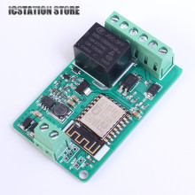ESP8266 Network Relay WIFI Relay Module TVS Protection DC 7-30V 220V 10A TCP HTTP