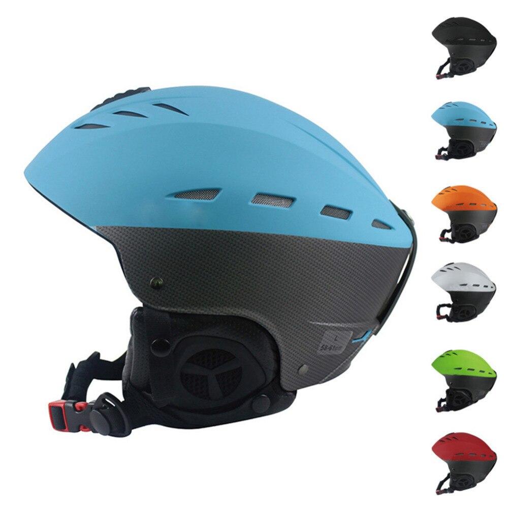 Professional Ski Helmet Adult Skiing Skating Skateboard Helmet Women Men Multicolor Warmer Snowboard Sports Protective Gear <br>