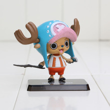 6cm Japanese Anime One Piece Tony Tony Chopper Two Years Later Action Figure PVC Toys Doll Model(China)