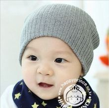 2017 Fashion Winter Solid Color Children's Hat Baby Caps  Knitted Soft Hats Caps Kids Beanies  Pure Candy  Beanies