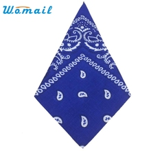 2017 Fashion Bandana Scarf Square Head Scarf Bandanas Headwear AGU 22Ap14