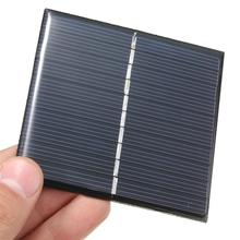 Wholesale! 50PCS/Lot 0.8W 5V 160Ma Polycrystalline Solar Panel Solar Cell Mini Solar Modul Education Kits Free Shipping