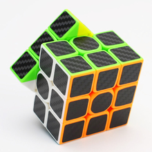 Buy High 3x3x3 Magic Cube Carbon Fiber Sticker Cube Speed Smooth Magic Fidget Cube Children Gift Puzzle Cube Toy for $4.28 in AliExpress store