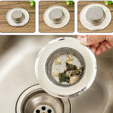 1x Kitchen Sink Strainers Stainless Steel Basket Drain Protector Stopper Plug(China)