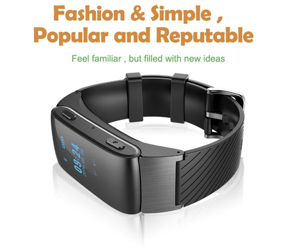 Smart Band DF22 Talkband Bluetooth Bracelet Sound Headset Call SMS Reminder Wristband Pedometer Fitness Sleep Monitor Smartband