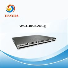 Gigabit Ethernet Switch Network WS-C3850-24S-E Lan Managed Switches